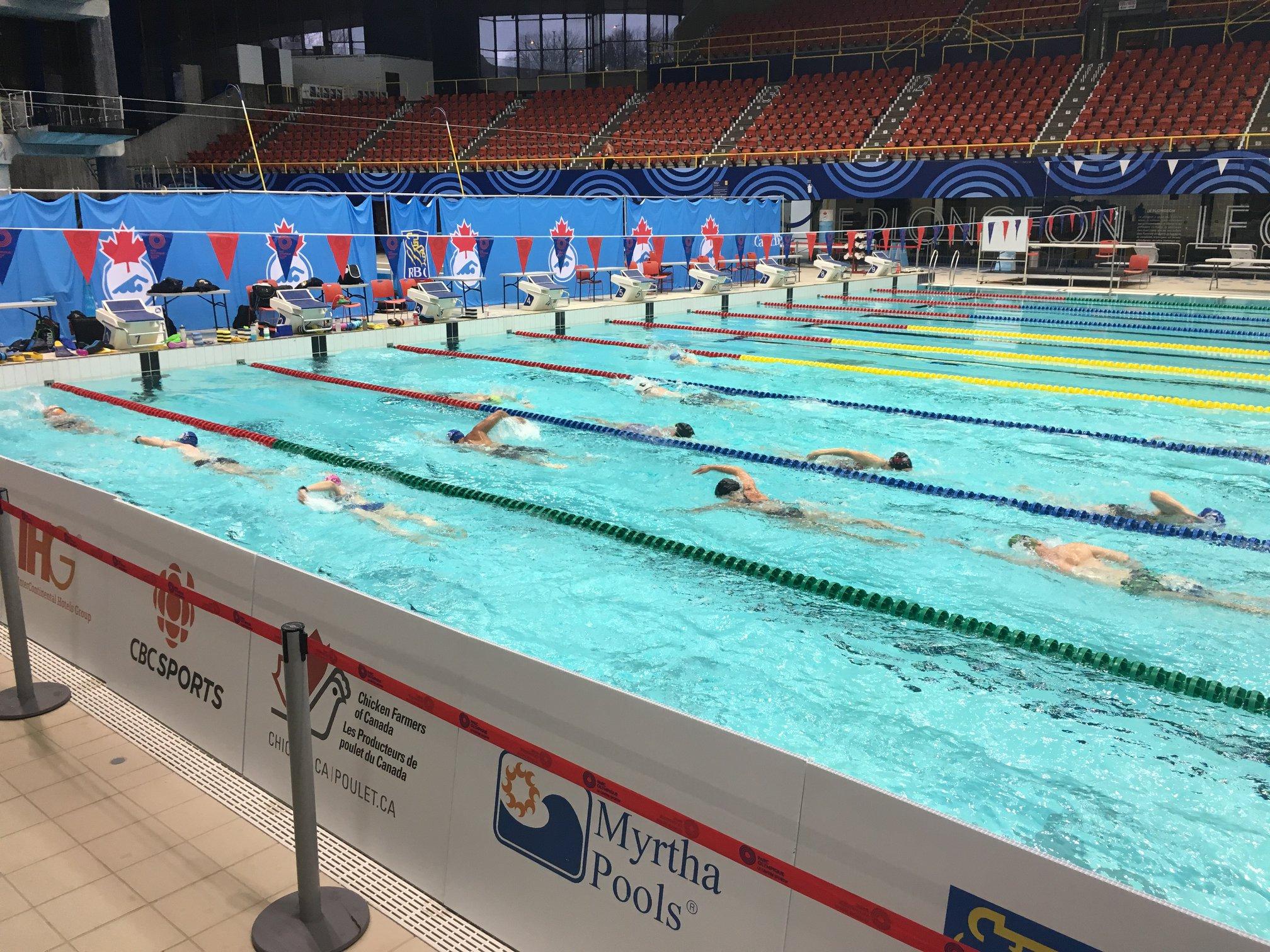 séance de natation aussi inspirante que motivante