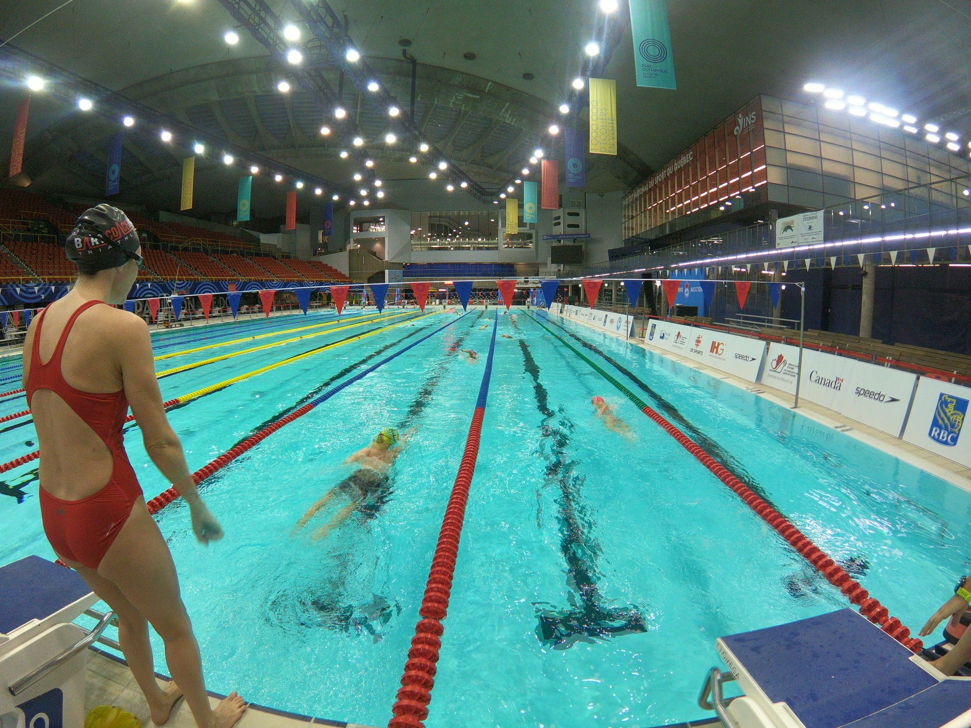 Une s ance aussi inspirante que motivante triathlon for Piscine 50m montreal