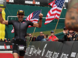 Finisher de mon premier Ironman 70.3 à Lake Placid !